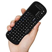 iPazzPort KP - 810 - 19BTS Mini Wireless Bluetooth QWERTY Keyboard Touchpad