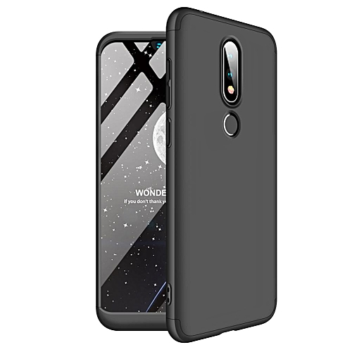 For Nokia X6 2018 Case, 3 In 1 Ultra Thin Anti-Scratch 360 Degree Full Protection Hard Slim PC Cover Shockproof Case for Nokia X6 (2018) / 6.1 Plus