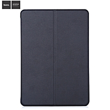 Faux Nappa Smart Magnetic Cover Case Stand Function For IPad Pro 9.7 - Black