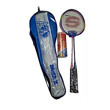 Badminton Set With 1 Tin Shuttlecock: Sbd6256: