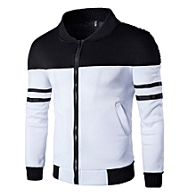 cb5d8f33cce Autumn Winter Zipper Men  039 s Jacket - Black ...