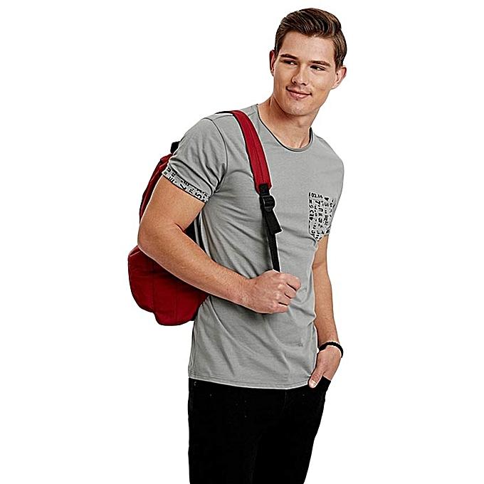 Grey Fashionable T-Shirt