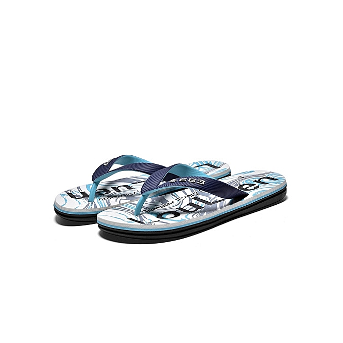 f17d78a7a6b7 Refined Super Large Size Men s EVA soft-bottomed flip flops Waterproof non-slip  breathable