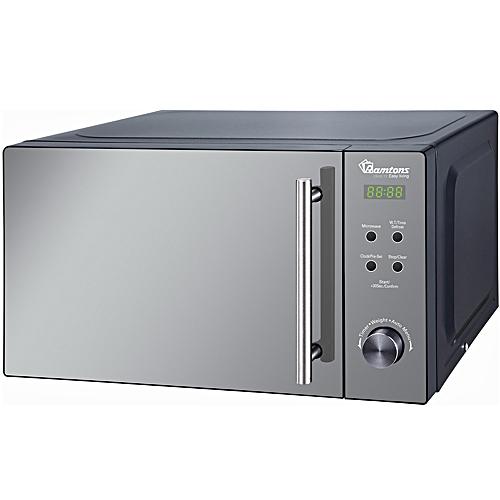 RM/458 - 20 Litres - Digital Glass Microwave - 700W- Silver