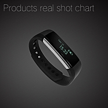 Koaisd Smart Bluetooth Bracelet  Pedometer Fitness Tracker For Android BK