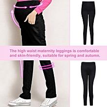 2c47262de44d4 Spring Autumn Cotton High Waist Maternity Legging Pants Adjustable Pregnancy  Trousers