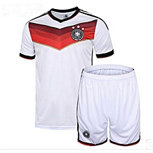 Germany National Team Jersey And Shorts For Women (White)