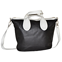 Black / White Edith's Handbag