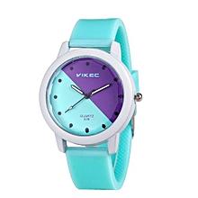 Henoesty Lady Watches Women Analog Silica Jelly Gel Quartz Sports Wrist Watch Gifts