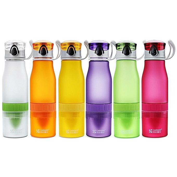 Water Bottle Kenya: Cargen PM002 700ml Lemon Water Bottle