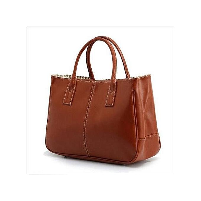 fab2c9bf706e Fashion Women Lady Faux Leather Tote Purse Hobo Handbag ShopperWork Satchel  Bag