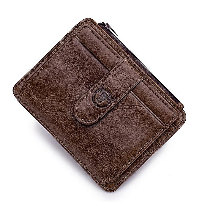 c4d168ea2214 BULLCAPTAIN Business Crossbody Bag for Men Fashion Leather Small Satchel Shoulder  Bag Sling Leather Bag Handbags