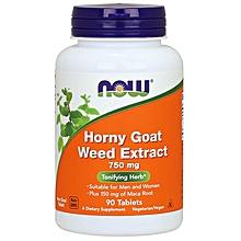 Horny Goat Weed Extract 750 mg Tablets