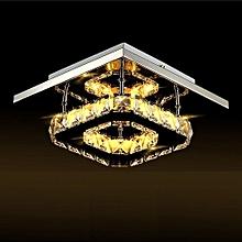 Modern Crystal Ceiling Light Pendant Lamp Fixture Chandelier Living Room Decor
