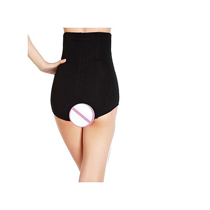 f94676ac6b High Waist Cincher Shapewear Corset Tummy Control Abdomen Pant Underwear BK  L