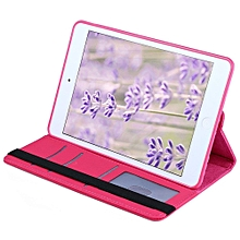 360 Degrees Rotating Stand PU Leather TPU Back Cover Case Protective Flip Folio Detachable Soft Rubber Cover For IPad Mini 1 / 2 / 3
