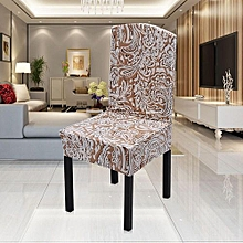 Spandex Stretch Chinese Element Pattern Print Chair Covers Slipcovers #5