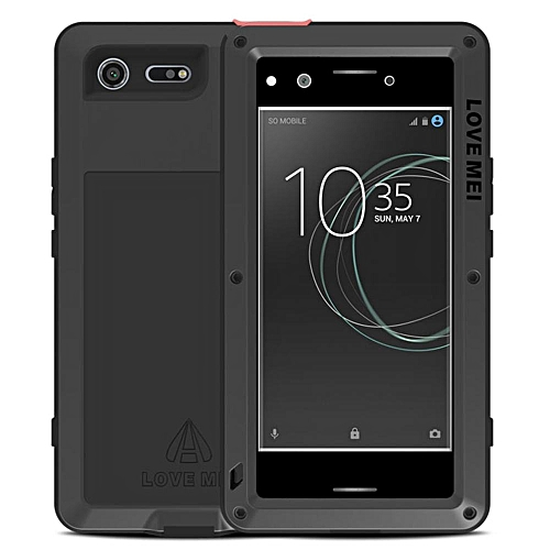 huge discount 3f27c 1262f Xperia XZ Premium Waterproof Case, Shockproof Snowproof Dustproof Durable  Aluminum Metal Heavy Duty Full-body Protection Case Cover for Sony Xperia  XZ ...