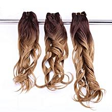 gradient brown wig