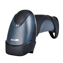 NETUM M2 Wireless Barcode Scanner Handheld 1D Reader BLUE AND BLACK