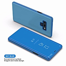 Samsung Note 9 Smart Clear View Flip Cover Mirror Phone Case