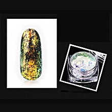Fancyqube 12 Colors Symphony Stars Magic Mirrors Powder  Nail Art Design Decoration