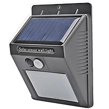 LED Bulbs Solar Sensor Light BLACK