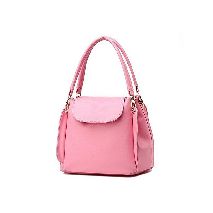 1d1c3d19e3253 Bucket Bags Women Handbags Pu Leather Black Blue Crossbody Shoulder Bags  Ladies Tote Bag Bolsa Feminina High Quality - Intl (Color As First Picture)