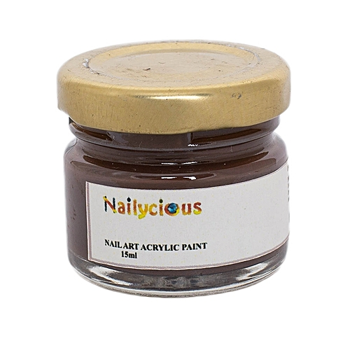 Buy Nailycious Acrylic Paint For Nail Art Egypt Brown Best Price