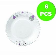 Trendy Haze 6pc Dinner Plate Set