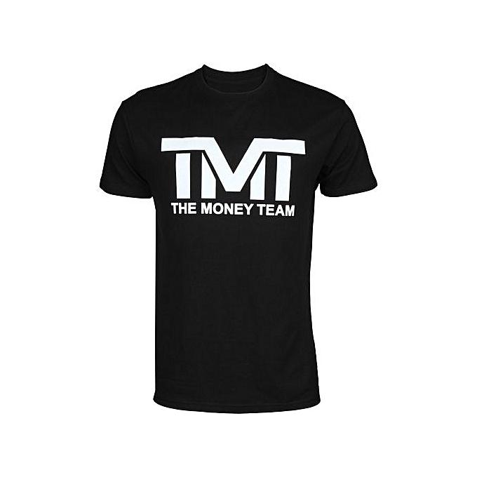 The Money Team Tmt Floyd Mayweather Classic Tee Shirt Men s Round Neck  Short Sleeves Cotton T 8d494d33b943