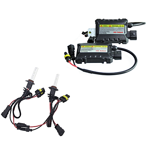 2pcs Set 55W 9006 HID Xenon Headlight Bulbs Conversion KIT 3000 12000K For Car