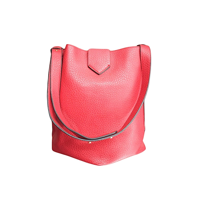 ab17ec9524f Buy Generic Stylish Cylindrical Ladies Handbag - Red   Best Price ...