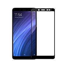 2 Pc Xiaomi Redmi Note 5 Phone Screen Protector HD Durable Tempered Glass Front Film    XIAOMI REDMI NOTE 5    black