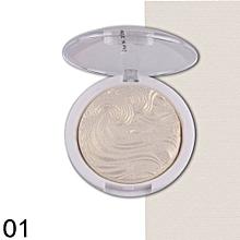 3D Shimmer Highlighter Face Powder Palette Face Base Shine Illuminator Makeup