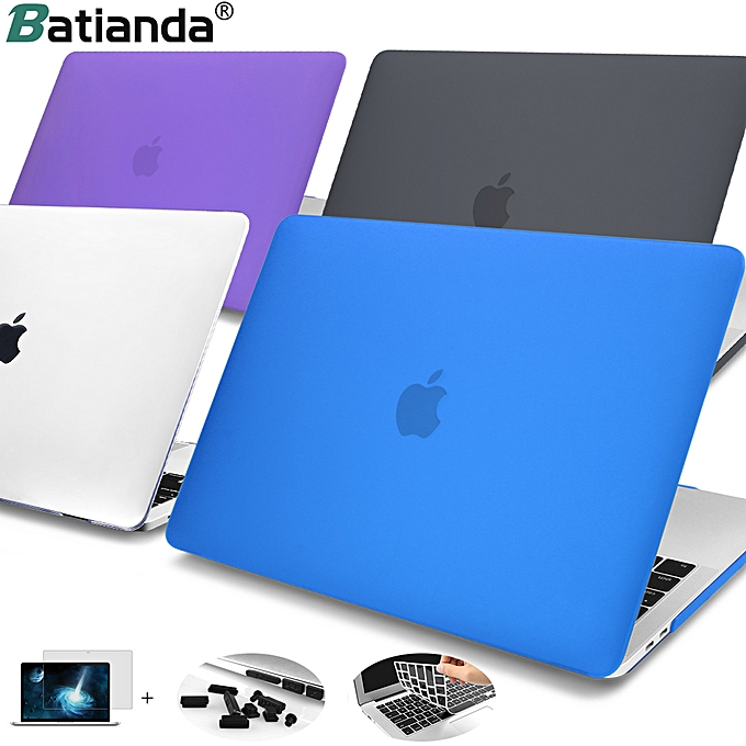 For Macbook Air 11 12 Retina13 15 Matte Hard Case With Screen Film For  Macbook New Air 13 2018 A1932 Pro 13 15 Laptop Protector( Air 13 2018
