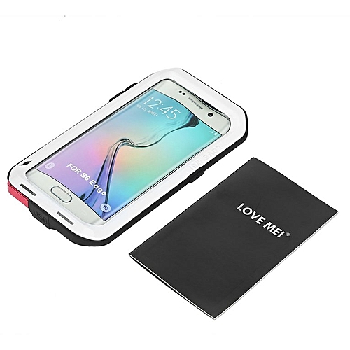 size 40 44c34 d960b HP Phone Case For Samsung Galaxy S6 Edge Shockproof Waterproof Protective  Cover white