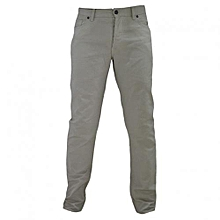 Cream Men's Slim Fit Pants