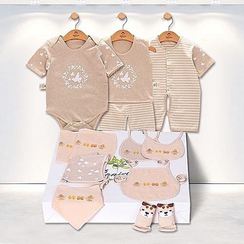 6f9252247f22 Fashion Newborn Baby Clothing Sets Baby Girls Boys Clothes Gift Infant  Cotton Cartoon Underwear Sets