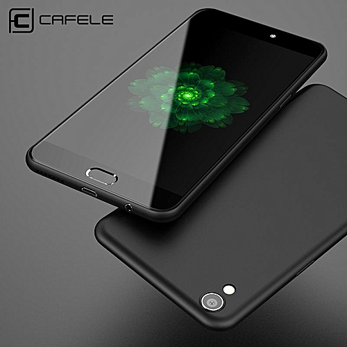 quality design 91386 0a495 Soft Case For Oppo R9 Ultra Thin Smooth Back Cover Casing For Oppo R9 Cases  Housing Shell (Black)