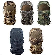 Outdooors Tactical Balaclava Full Face Mask Airsoft Multicolours