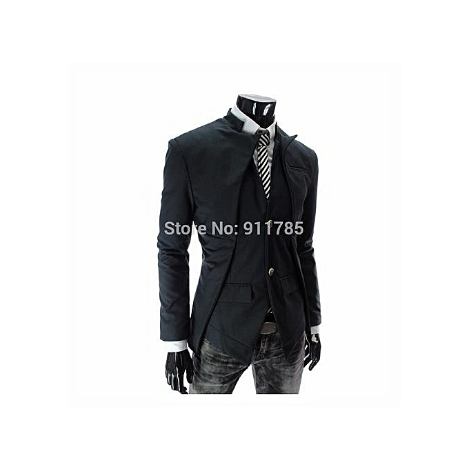 6bd4528e06 New Fashion From Yang  Fashion Spring Autumn Korean Style Suit Jackets  Asymmetrical Design Suit Men