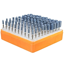 Universal Rotary Assorted Abrasive Stone Accessory Tool Kit For Dremel 100pcs-