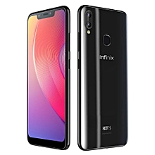 "Hot S3x [x622] - [32GB+3GB RAM] - 6.2"" (18:9) - 16MP Super Selfie Cam - Face ID+Fingerprint - 4,000mAh Battery - Dual SIM - Milan Black"
