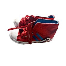 Red and Blue Boys Shoes