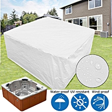 """Spa 85"""" X 85"""" Winter & Summer Protective Cover For Spa Hot Tub"""
