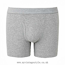 Dope Dealer Grey Cotton Men Boxers