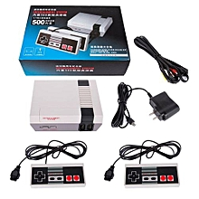 Classic Retro Children's Game Console Professional System With 2 Controllers Built-in 500 TV Video Game Specification:British Regulations