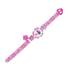 Children Student Watch Flower Pattern Wristwatch Casual Lovely Colorful Kids