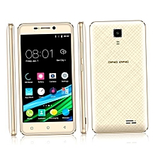 4.5 Inches 3G MT6580M Smartphone Mobile Phone For Android Dual Sim-golden